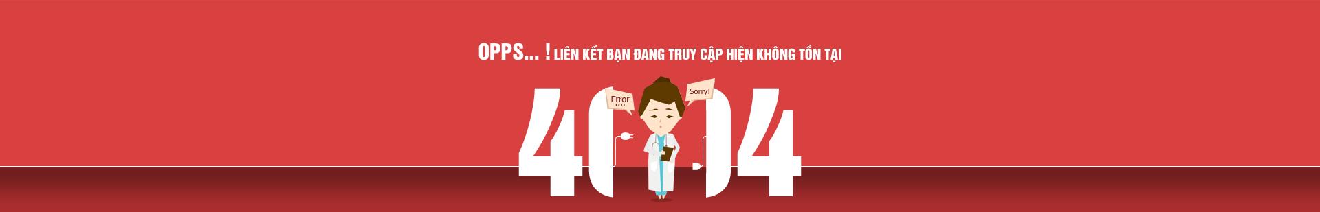 Trang báo lỗi 404
